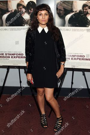 "Carlen Altman attends the ""The Stanford Prison Experiment"" premiere at the Bow Tie Chelsea Cinemas, in New York"