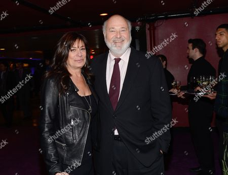 """Actor Rob Reiner and wife Michele Singer arrive at the premiere party for """"The Wolf of Wall Street"""" at the Roseland Ballroom, in New York"""