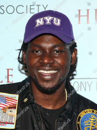 "Stock Photo of Theophilus London attends a special screening of ""The Eagle Huntress"" at the Landmark Sunshine Cinema, in New York"