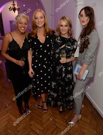 Gemma Cairney, Sarah-Jane Mee, Trish Halpin, Hannah Little