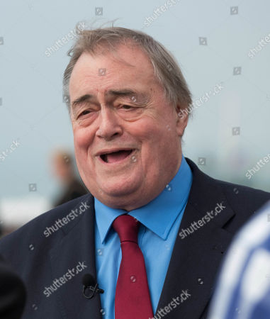 Politician John Prescott at the Labour Party Conference