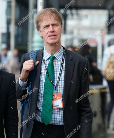 Labour MP Stephen Timms arrives at the Labour Party Conference