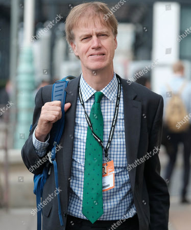 Stock Photo of Labour MP Stephen Timms arrives at the Labour Party Conference