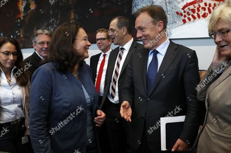 Thomas Oppermann and Andrea Nahles