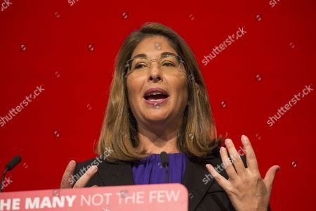 Canadian author, social activist, and filmmaker Naomi Klein speaks on the third day of the 2017 Labour Party Conference in Brighton.