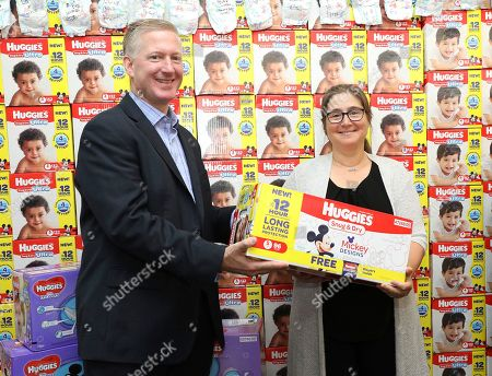 "Editorial picture of Babies""R""Us and Huggies National Diaper Bank Network Diaper Donation Event, New York, USA - 26 Sep 2017"