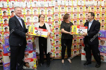 "Editorial image of Babies""R""Us and Huggies National Diaper Bank Network Diaper Donation Event, New York, USA - 26 Sep 2017"
