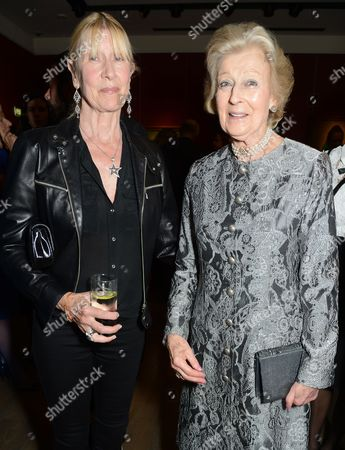 Stock Photo of Lady Carina Fitzalan-Howard and Princess Alexandra, The Honourable Lady Ogilvy