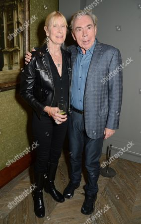 Lady Carina Fitzalan-Howard and Sir Andrew Lloyd Webber