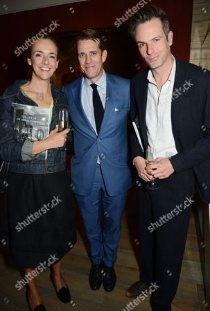 Ben Elliot (middle) with guests