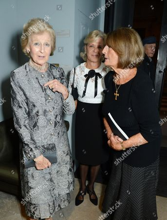 Princess Alexandra, The Honourable Lady Ogilvy, Lady Marcia FitzAlan-Howard and Lady Annabel Goldsmith