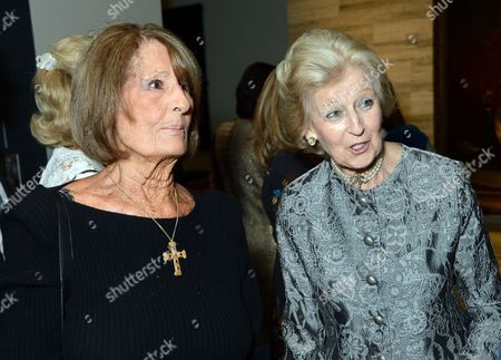 Lady Annabel Goldsmith and Princess Alexandra, The Honourable Lady Ogilvy