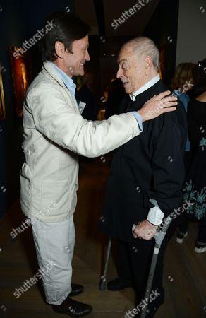 Daniel de la Falaise and Willie Landels