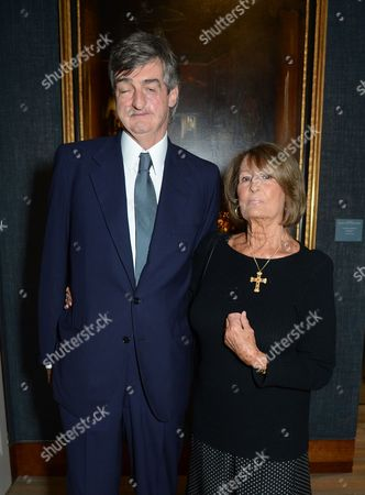 Stock Photo of Robin Birley and Lady Annabel Goldsmith