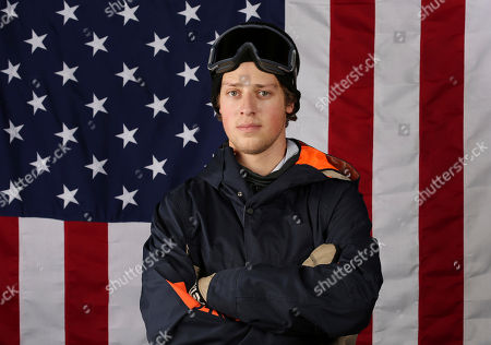 United States Olympic Winter Games slopestyle skier Joss Christensen poses for a portrait at the 2017 Team USA Media Summit, in Park City, Utah