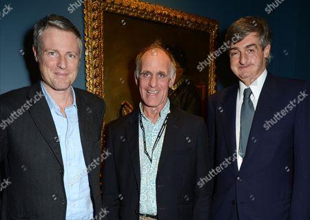 Zac Goldsmith, Robin Smith-Ryland and Robin Birley