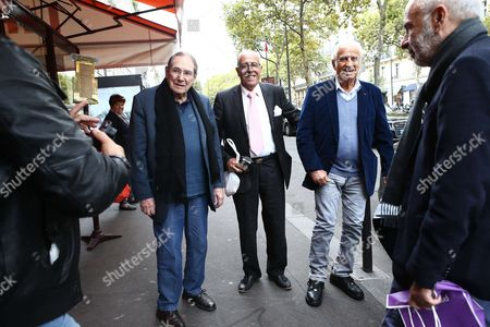 Jean Paul Belmondo and Robert Hossein