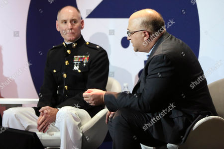 Lieutenant Colonel John Caldwell (National Director of Marketing and Communication Strategy United States Marine Corps), Chris Pollone (Correspondent and Producer, NBC News)