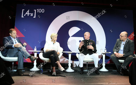 Spence Kramer (CEO, J Walter Thompson Atlanta), Donna Spurrier (Founder and CEO, Spurrier Group), Lieutenant Colonel John Caldwell (National Director of Marketing and Communication Strategy United States Marine Corps), Chris Pollone (Correspondent and Producer, NBC News)