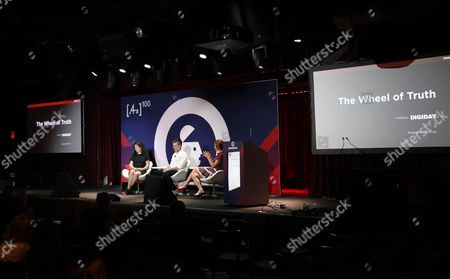 Debby Reiner (CEO, Grey New York), Lindsay Nelson (CMO, Vox Media), Brian Morrissey (Editor-in-chief Digiday)
