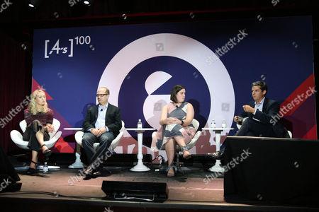 Sarah Warner (Managing Partner, Digital Investment Lead, GroupM), David Kohl (President and CEO, TrustX), Jess Barrett (Global Head of Programmatic, Financial Times), Jason Kint (CEO, Digital Content Next)