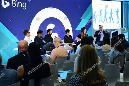Editorial picture of Crafting Immersive Experiences: A New Language in Storytelling seminar, Advertising Week New York 2017, Bing Stage, Microsoft Technology Center, New York, USA - 28 Sep 2017
