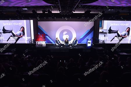 Editorial picture of Fearlessly Funny: Scripted Comedy and The Arms Race for Audience Attention, Advertising Week New York 2017, PlayStation East Stage, PlayStation Theater, New York, USA - 28 Sep 2017