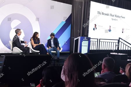 Editorial picture of The Brands That Matter Now seminar, Advertising Week New York 2017, PlayStation East Stage, PlayStation Theater, New York, USA - 28 Sep 2017
