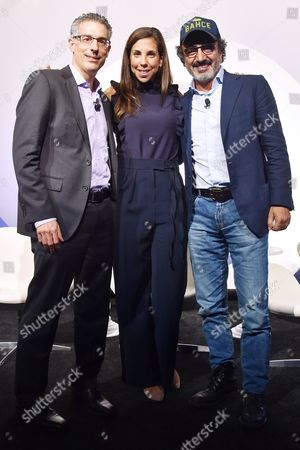 Editorial photo of The Brands That Matter Now seminar, Advertising Week New York 2017, PlayStation East Stage, PlayStation Theater, New York, USA - 28 Sep 2017