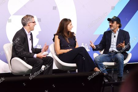 Editorial image of The Brands That Matter Now seminar, Advertising Week New York 2017, PlayStation East Stage, PlayStation Theater, New York, USA - 28 Sep 2017