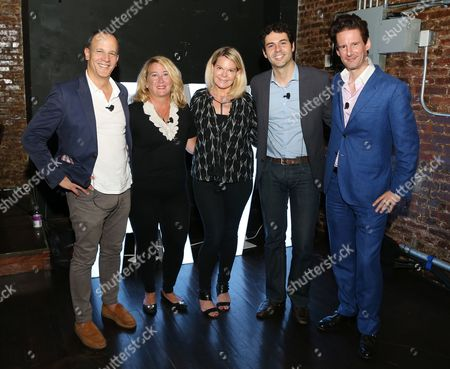 Editorial image of Extending the Live Experience seminar, Advertising Week New York 2017, Shutterstock Stage, Liberty Theater, New York, USA - 28 Sep 2017