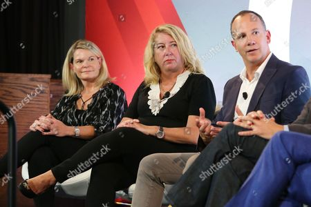 Editorial picture of Extending the Live Experience seminar, Advertising Week New York 2017, Shutterstock Stage, Liberty Theater, New York, USA - 28 Sep 2017