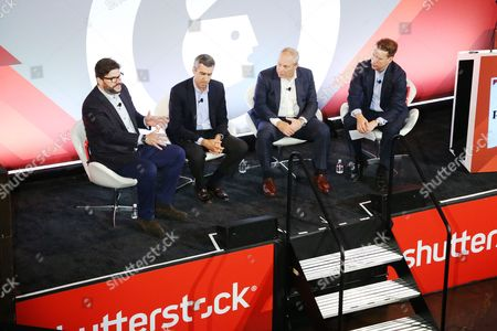 Editorial image of Media as Experience seminar, Advertising Week New York 2017, Shutterstock Stage, Liberty Theater, New York, USA - 28 Sep 2017
