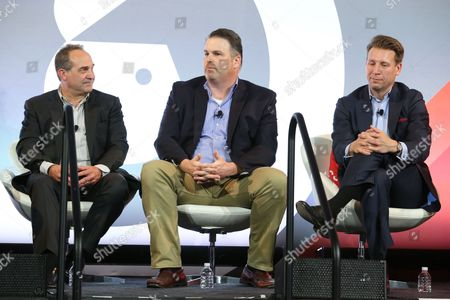 Jeff Gregor (CMO and Chief Catalyst Officer, TNT and tbs, Turner Broadcasting), Gavin Blawie (Head of Digital, MKTG) and Christopher Vollmer (Global Entertainment and Media Advisory Leader, PwC)