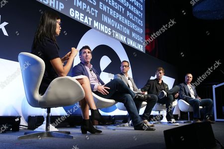 Editorial picture of Masters of Monetizing Content seminar, Advertising Week New York 2017, Target Media Network Stage, PlayStation Theater, New York, USA - 28 Sep 2017