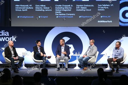 Editorial photo of Total Video and OTT For Fortune 100 brands seminar, Advertising Week New York 2017, Target Media Network Stage, PlayStation Theater, New York, USA - 28 Sep 2017