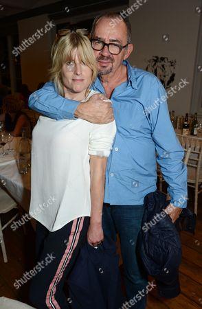 Rachel Johnson with Paul Weiland