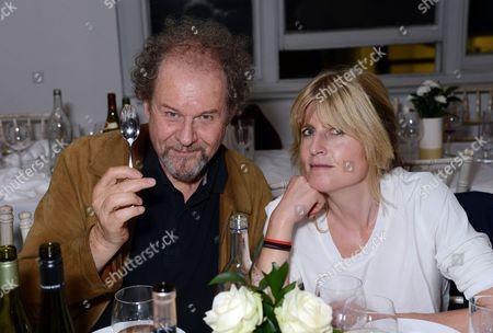 Mike Figgis and Rachel Johnson