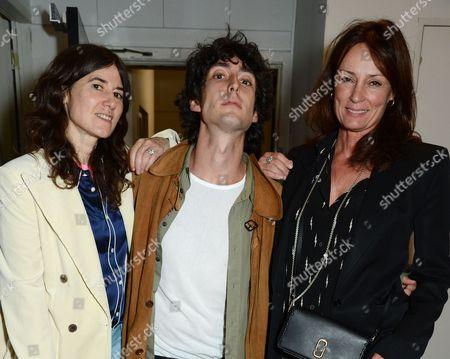 Bella Freud,  Taz Fustok and Tricia Ronane