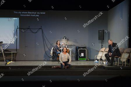 Gaite Jansen, Marieke Heebink and Gijs Scholten van Aschat in After the Rehearsal