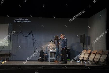 Gaite Jansen and Gijs Scholten van Aschat in After the Rehearsal