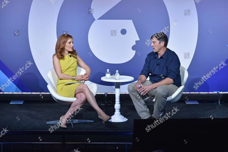 Julia Boorstin (Entertainment and Media Correspondent, CNBC) and Tim Armstrong (CEO, Oath)