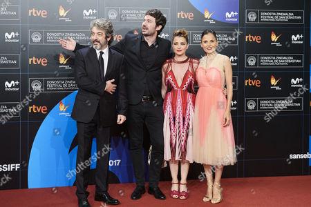 Editorial image of 'La Cordillera' and Donostia Award Ceremony, Arrivals, 65th San Sebastian Film Festival, Spain - 26 Sep 2017