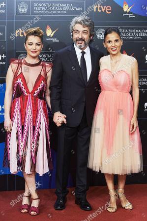 Dolores Fonzi, Elena Anaya and Ricardo Darin