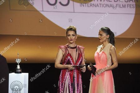 Elena Anaya and Dolores Fonzi