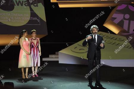 Editorial picture of 'La Cordillera' and Donostia Award, Show, 65th San Sebastian Film Festival, Spain - 26 Sep 2017