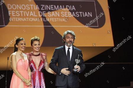 Editorial image of 'La Cordillera' and Donostia Award, Show, 65th San Sebastian Film Festival, Spain - 26 Sep 2017