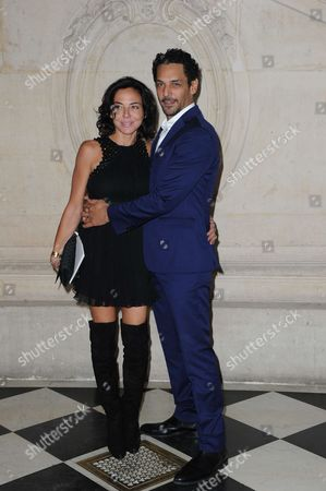 Tomer Sisley and Sandra Zeitoun