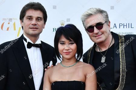 Arnaud Boetsch, Yuja Wang and Jean-Yves Thibaudet