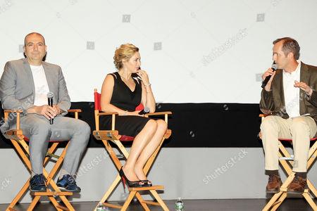 Hany Abu-Assad, Kate Winslet and Jeff Labrecque